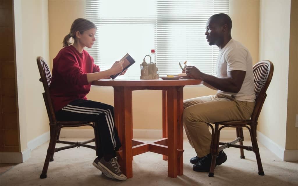 Kate Mara y David Oyelowo protagonizan la cinta 'Captive'. © 2015 Paramount Pictures. All Rights Reserved