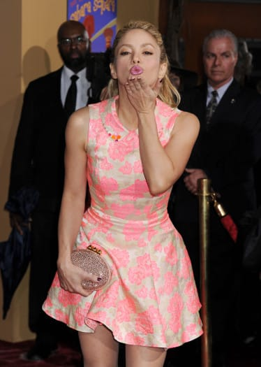 Zootopia - Shakira, Ginnifer Goodwin y Kristen Bell en la premiere