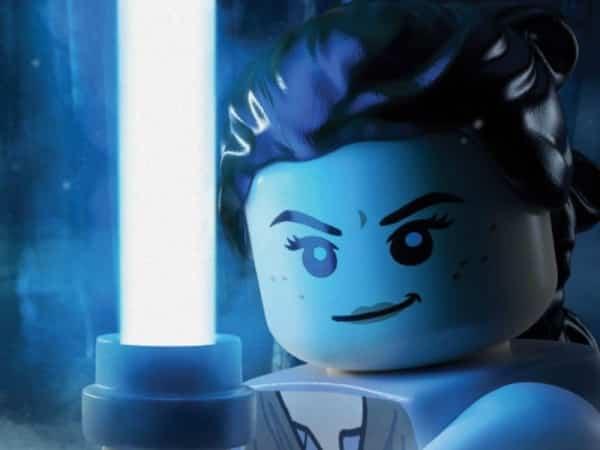 Rey en versión Lego