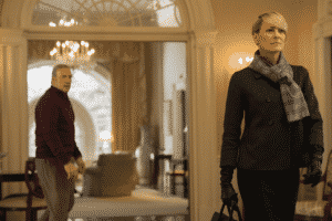 Claire abandona a Frank al final de la Tercera Temporada