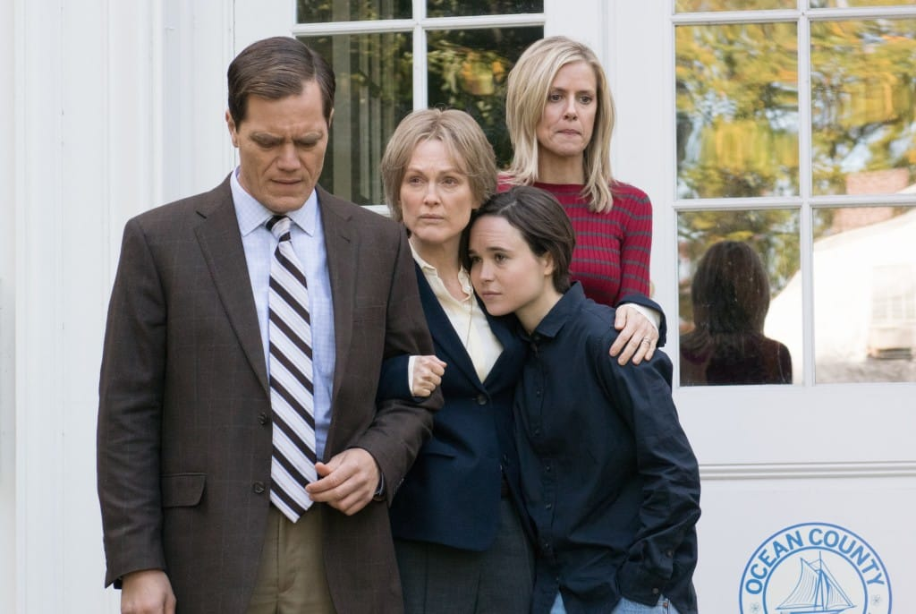 Michael Shannon, Julianne Moore y Ellen Page en la cinta 'No Sin Ella' (Freeheld). En cines 04 de marzo.