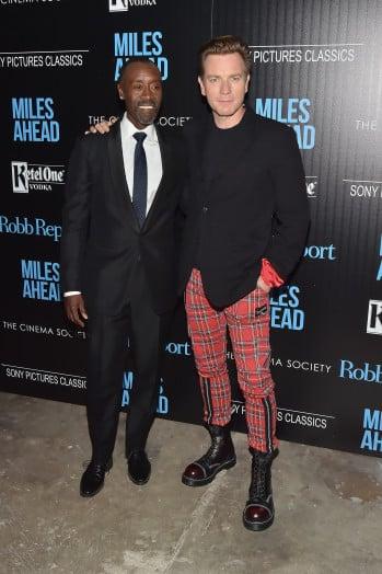 'Miles Ahead' film screening at the Cinema Society, New York, America - 23 Mar 2016