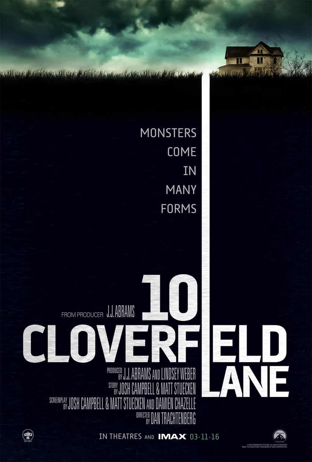 '10 Cloverfield Lane' misterio y tensión te mantendrán adivinando hasta el final