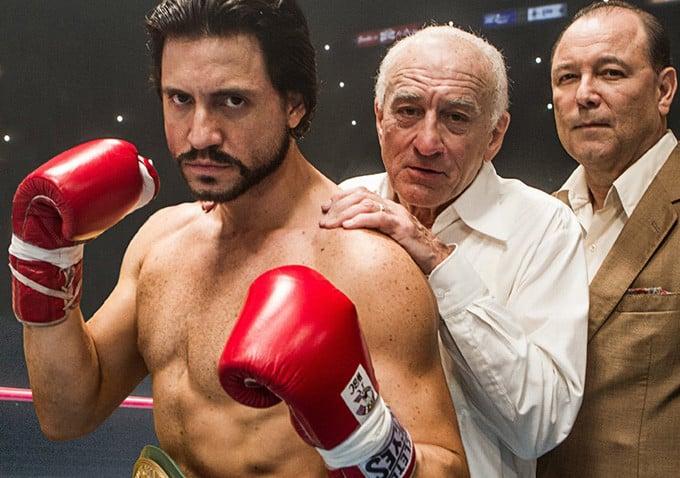 """Hands Of Stone con Robert De Niro yEdgar Ramirez , basada en la vida de Roberto Duran """"Manos de Piedra"""""""