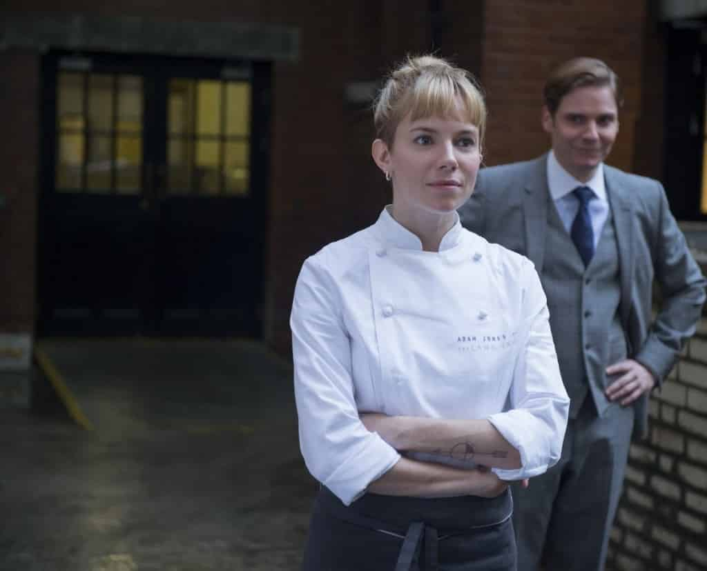 Sienna Miller y Daniel Brühl en 'Una Buena Receta' (Burnt). En cines 08 de abril. Photo by The Weinstein Company - © The Weinstein Company