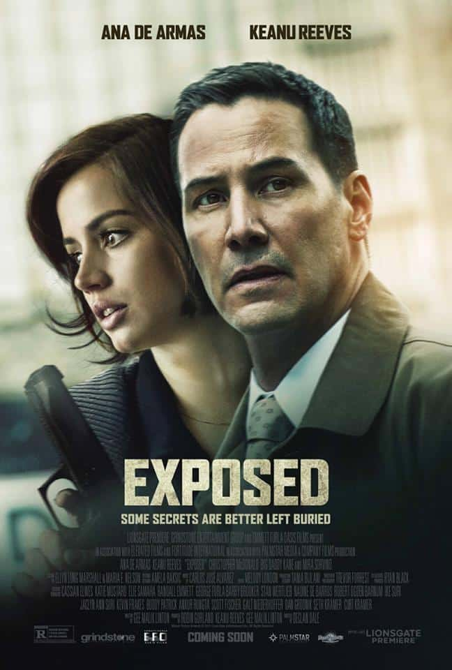 'Exposed' thriller de narrativa confusa e incoherente