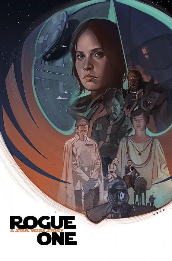 Un poster para Rogue One creado por fans