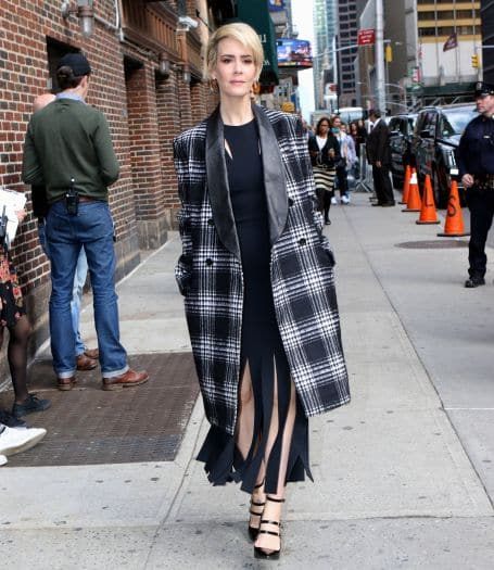 Sarah Paulson at ''The Late Show With Stephen Colbert'' in NYC