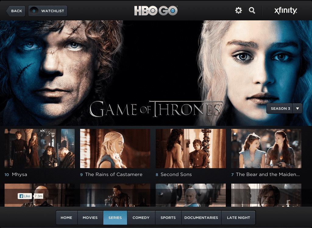 Imágen promocional de HBO, y su plataforma de VoD, HBO Go, quien nos presenta todo lo que estará llegando este mes de Noviembre de 2016 a su plataforma de Video on Demand.