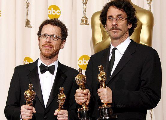 Los hermanos Ethan y Joel Coen.