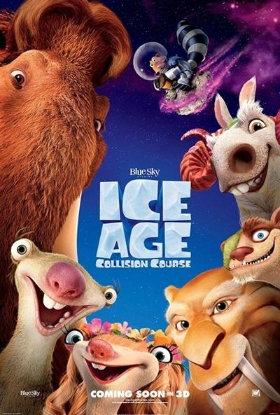 Nuevo póster oficial de Ice Age: Collision Course