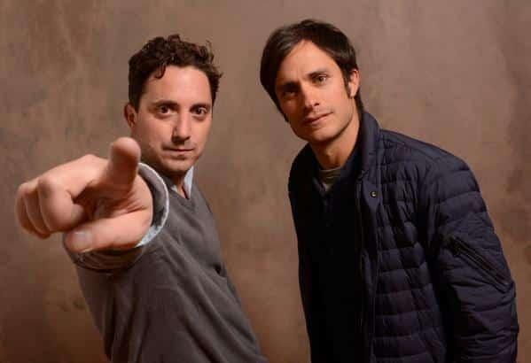 Pablo Larraín y Gael García Bernal