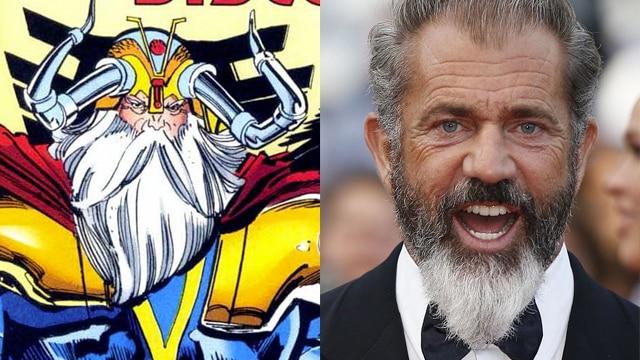 Mel Gibson Odin