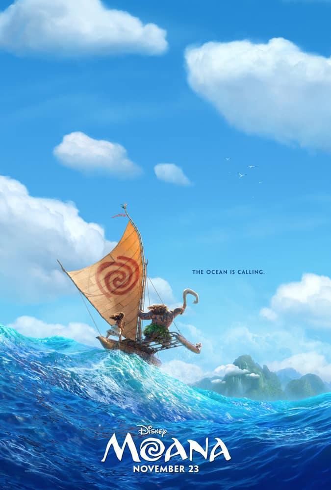 Poster para Moana, lo nuevo de Disney