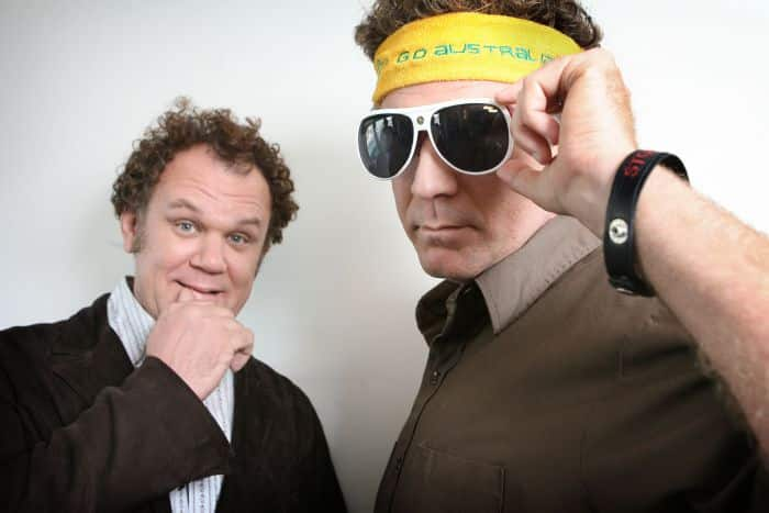 Will Ferrell and John C Reilly at the Sydney Park Hyatt hotel, promoting their latest film 'Step Brothers', Australia - 16 Sep 2008