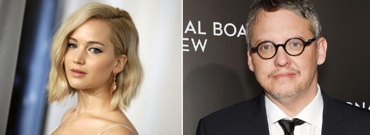Jennifer Lawrence y Adam McKay harán equipo en película de drama médico