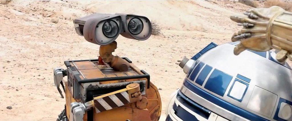 R2-D2 y WALL•E