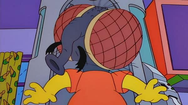 Bart Simpson mosca