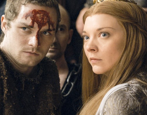 Margaery y Loras Tyrell, Game of Thornes. HBO.