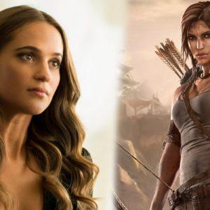 ¡Primer vistazo oficial a Alicia Vikander como la nueva Lara Croft!