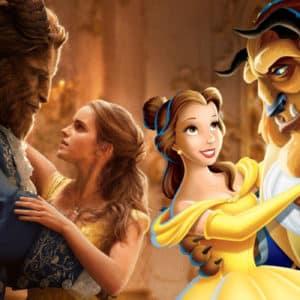 Cuatro diferencias entre la película en acción real y la película animada de La Bella y la Bestia
