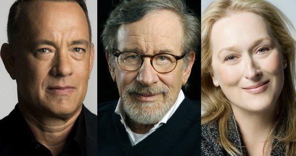 ¡Trío de ensueño! Steven Spielberg dirigirá película protagonizada por Meryl Streep y Tom Hanks