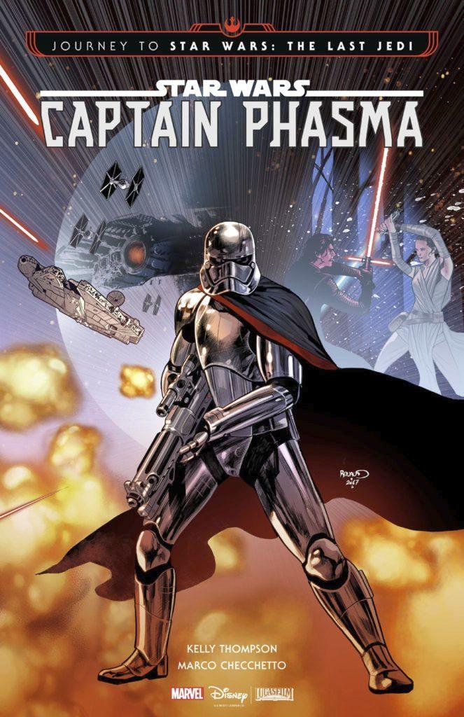 Sí, un comic dedicado a saber como Phasma sobrevive a Starkiller