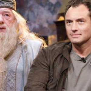 Fantastic Beasts encuentra en Jude Law ¡su nuevo Albus Dumbledore!