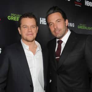 Ben Affleck y Matt Damon desarrollan serie dramática con Showtime