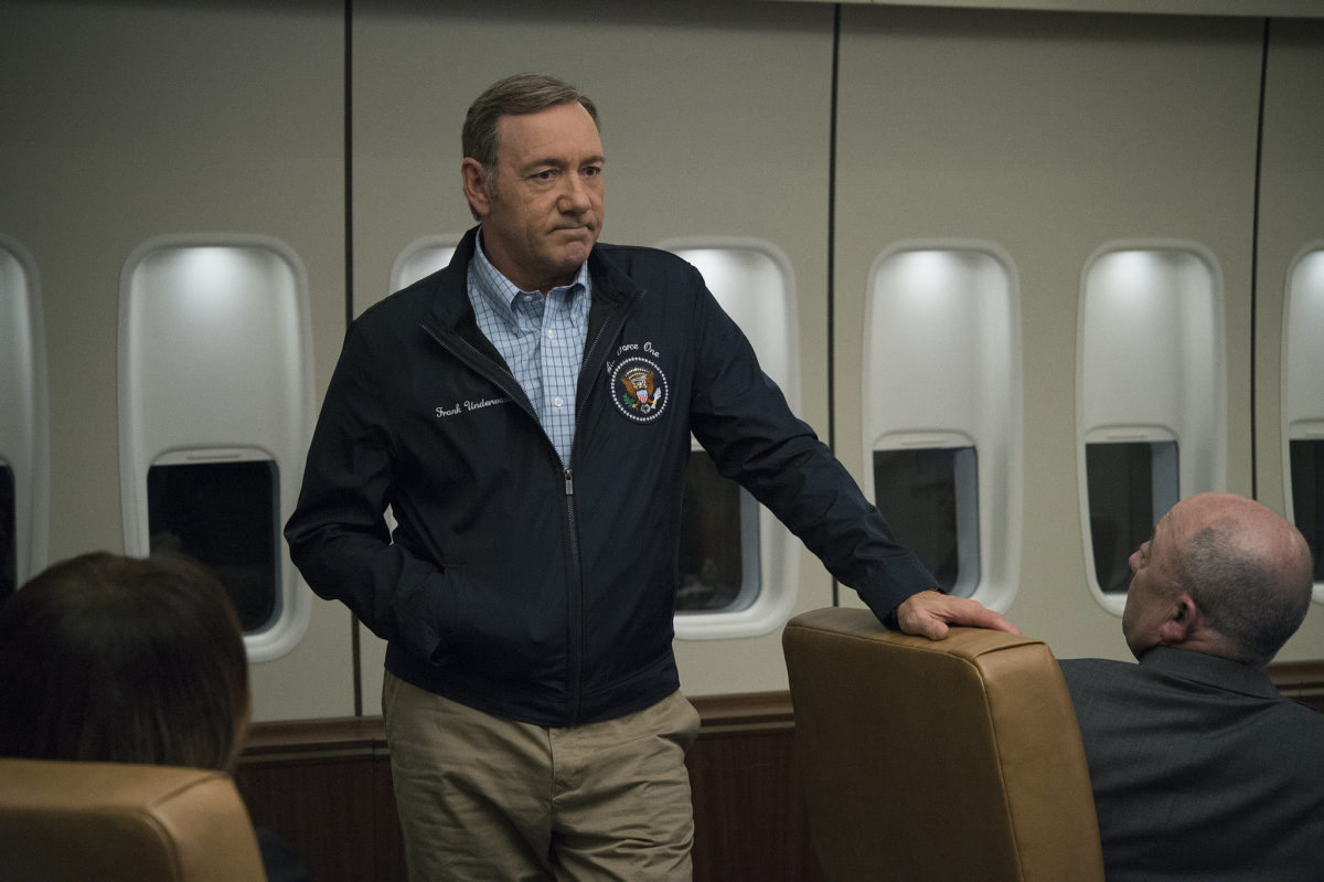 Netflix cancela House of Cards tras denuncia por acoso sexual en contra de Kevin Spacey