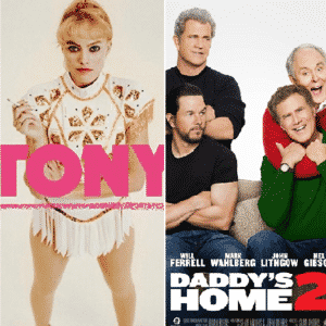 Semana en tráilers: Star Wars: The Last Jedi, I Tonya, Daddy's Home 2, Downsizing, The Disaster Artist