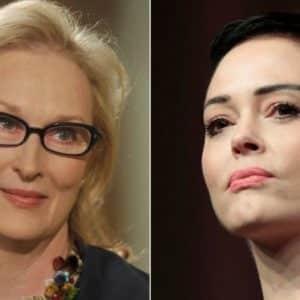Golden Globes: la protesta que las actrices preparan, toma un giro inesperado con Meryl Streep y Rose McGowan