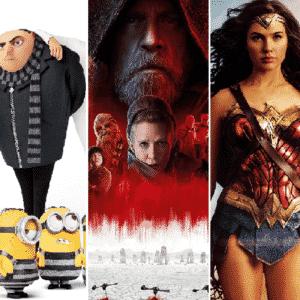 Lo mejor de 2017: las películas más taquilleras del año