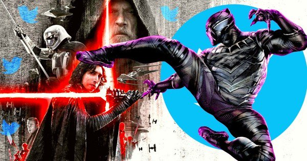 Black Panther es la película más tuiteada de todos los tiempos, venció a The Force Awakens