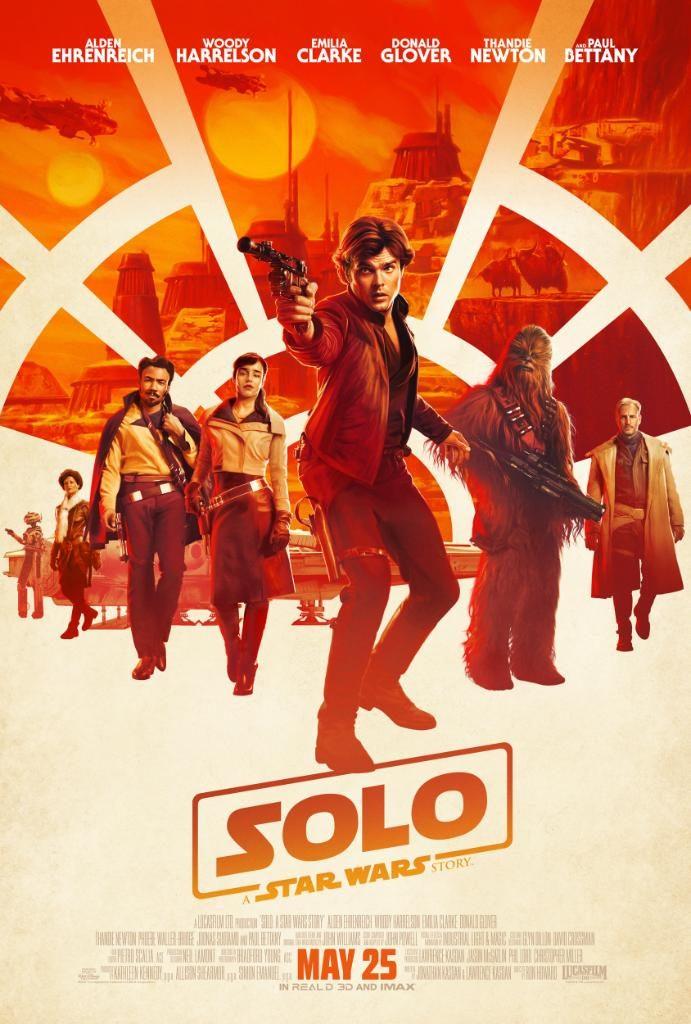 el nuevo poster de Han Solo: Una historia de Star Wars