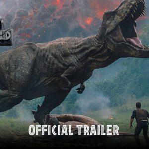 Acción y peligro en el tráiler final de Jurassic World: Fallen Kingdom