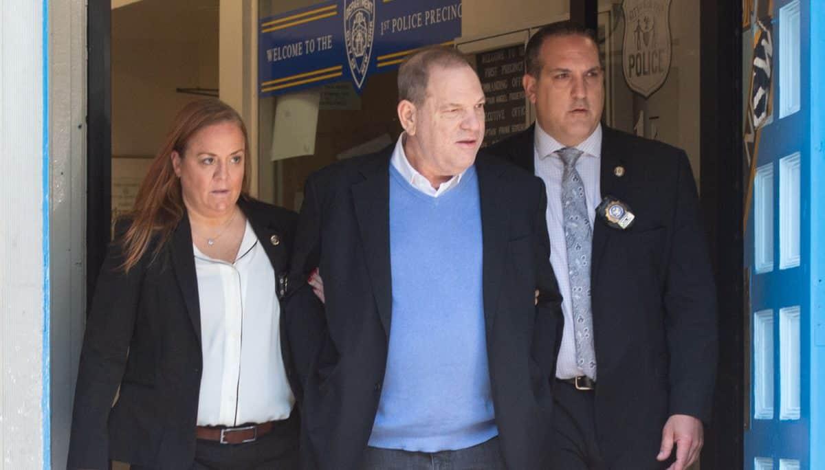 Hollywood reacciona al arresto de Harvey Weinstein