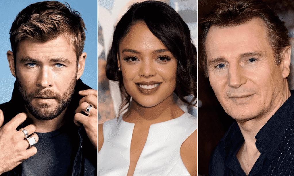 Liam Neeson se une a Chris Hemsworth y Tessa Thompson en spinoff de Men in Black de Sony Pictures