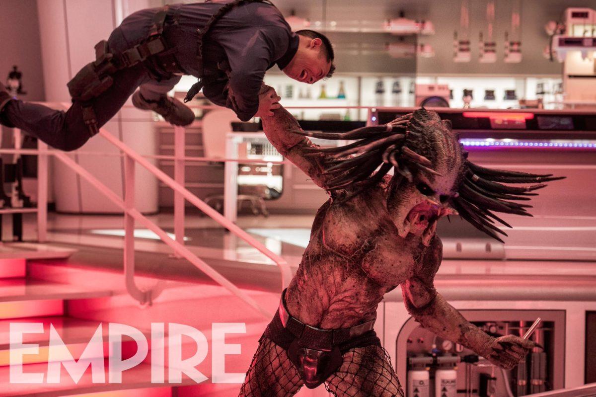 The Predator presenta al villano y su elenco en primeras imágenes