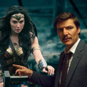 Así luce Pedro Pascal en Wonder Woman 1984