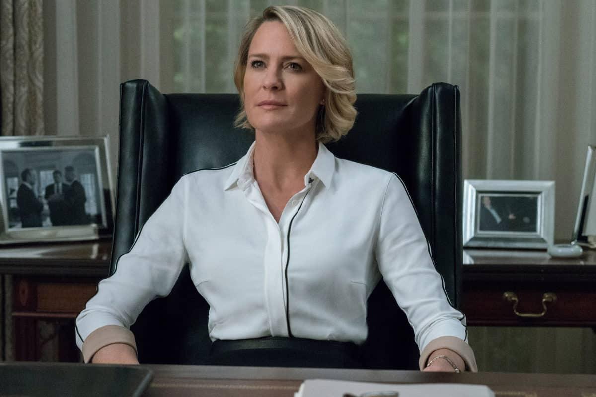 Robin Wright rompe el silencio sobre Kevin Spacey y última temporada de House of Cards en Netflix