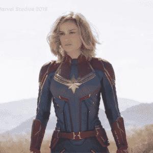 ¡Primer vistazo oficial a Brie Larson como Captain Marvel!