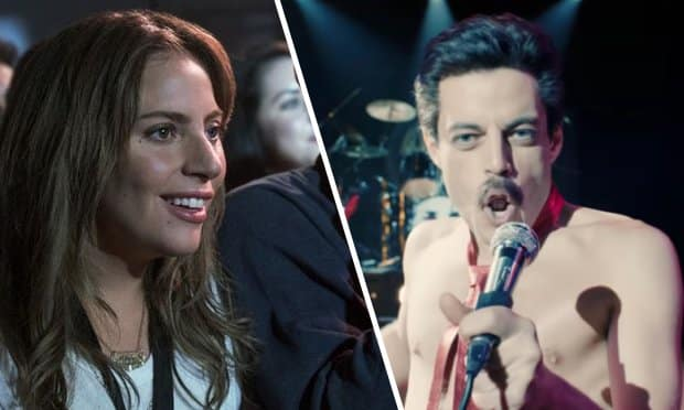 Golden Globes: A Star is Born y Bohemian Rhapsody no competirán como musical en la ceremonia