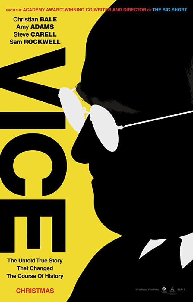 La biopic Vice libera grandioso tráiler con Christian Bale, Amy Adams, Steve Carrell y Sam Rockwell