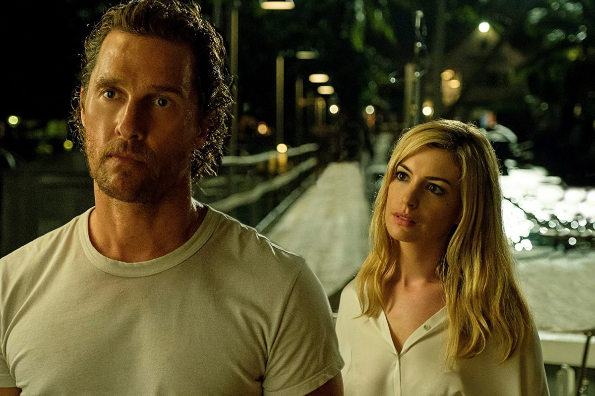 El thriller Serenity lanza nuevo tráiler con Anne Hathaway y Matthew McConaughey film de Steven Knight