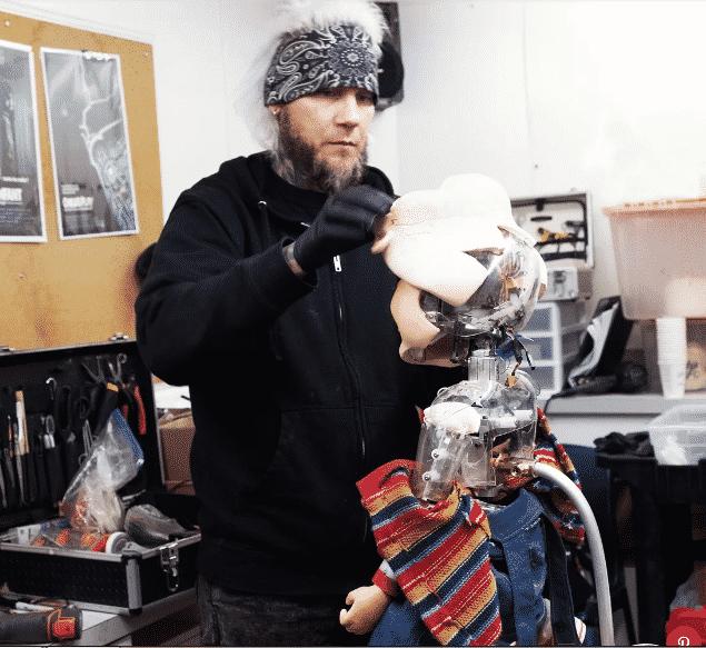 El reboot de Child's Play libera imagen 'detrás de escenas' con MastersFX