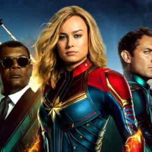 Captain Marvel se adueña de récords y taquilla mundial