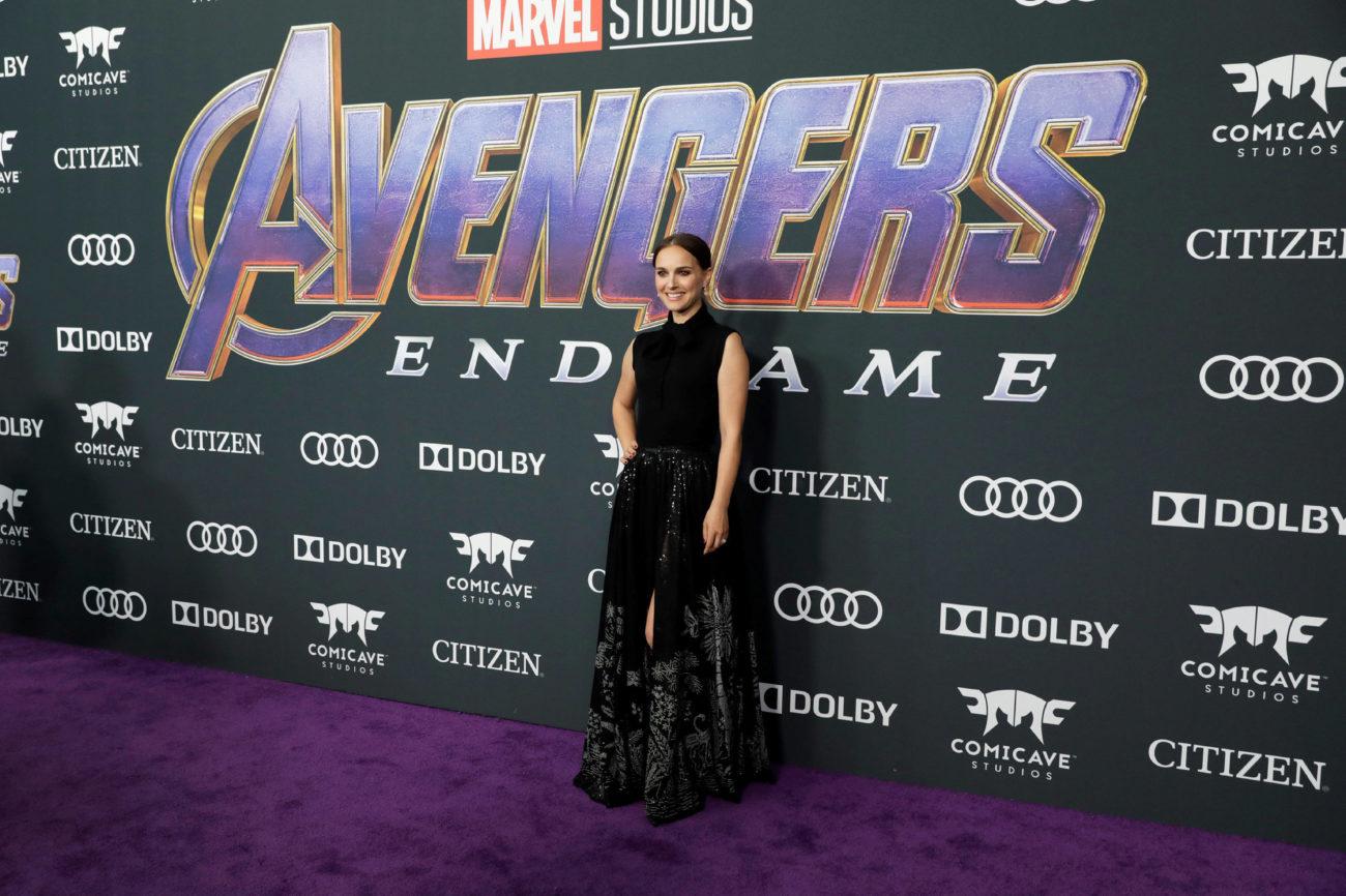 ¿Qué hacía Natalie Portman en la premiere de Avengers: Endgame?