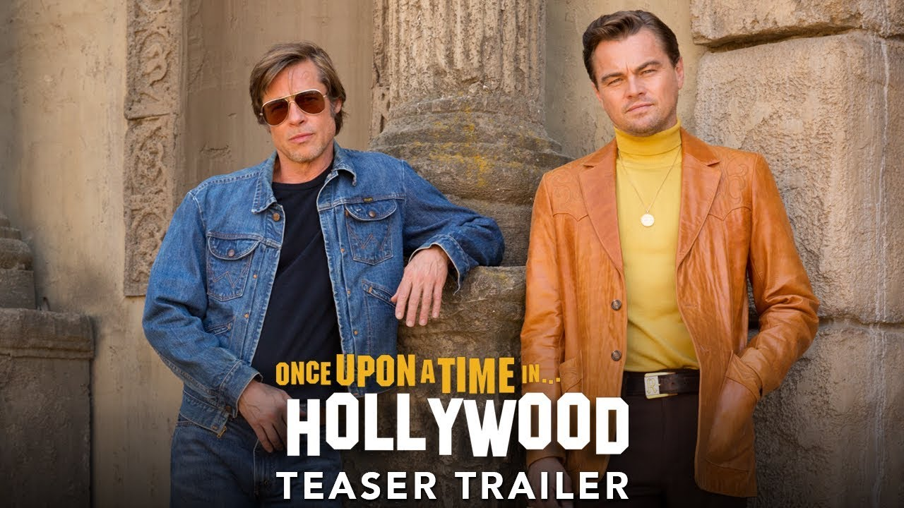 Once Upon a Time in Hollywood libera teaser tráiler