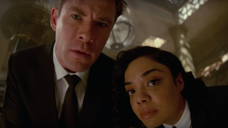 Men in Black: International libera segundo tráiler con Chris Hemsworth y Tessa Thompson